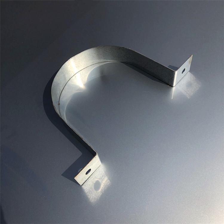浙江|鴻途廠家直銷半圓標志牌管卡 u型立桿抱箍|抱箍報價