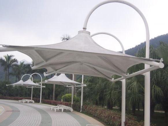 膜结构景观棚