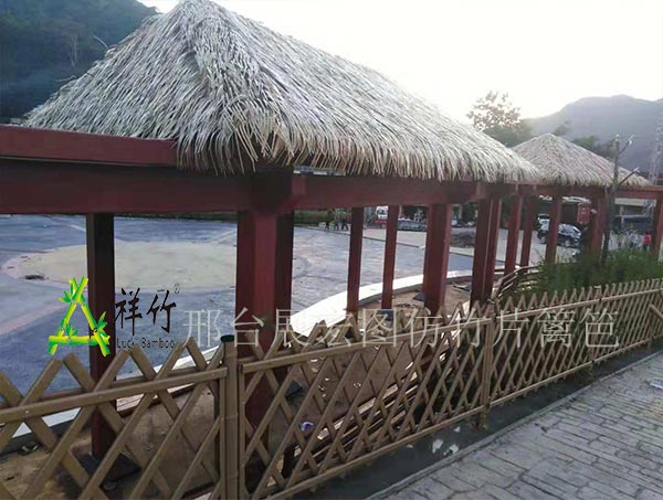 重庆|景观护栏|仿竹篱笆|景观围栏