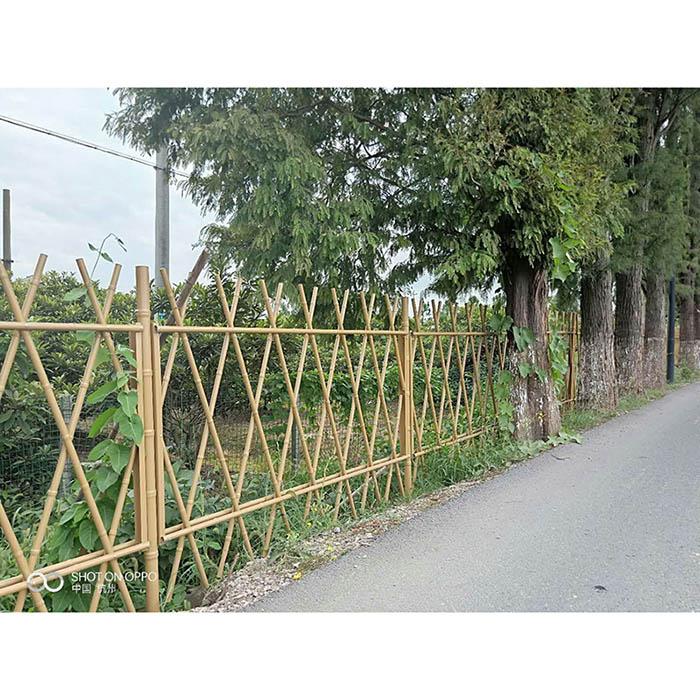 祥竹 仿竹栏杆 仿竹篱笆 仿竹篱笆
