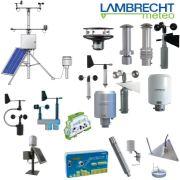德国LAMBRECHT自动气象站,风速风向仪,温湿度计,环境监测仪器