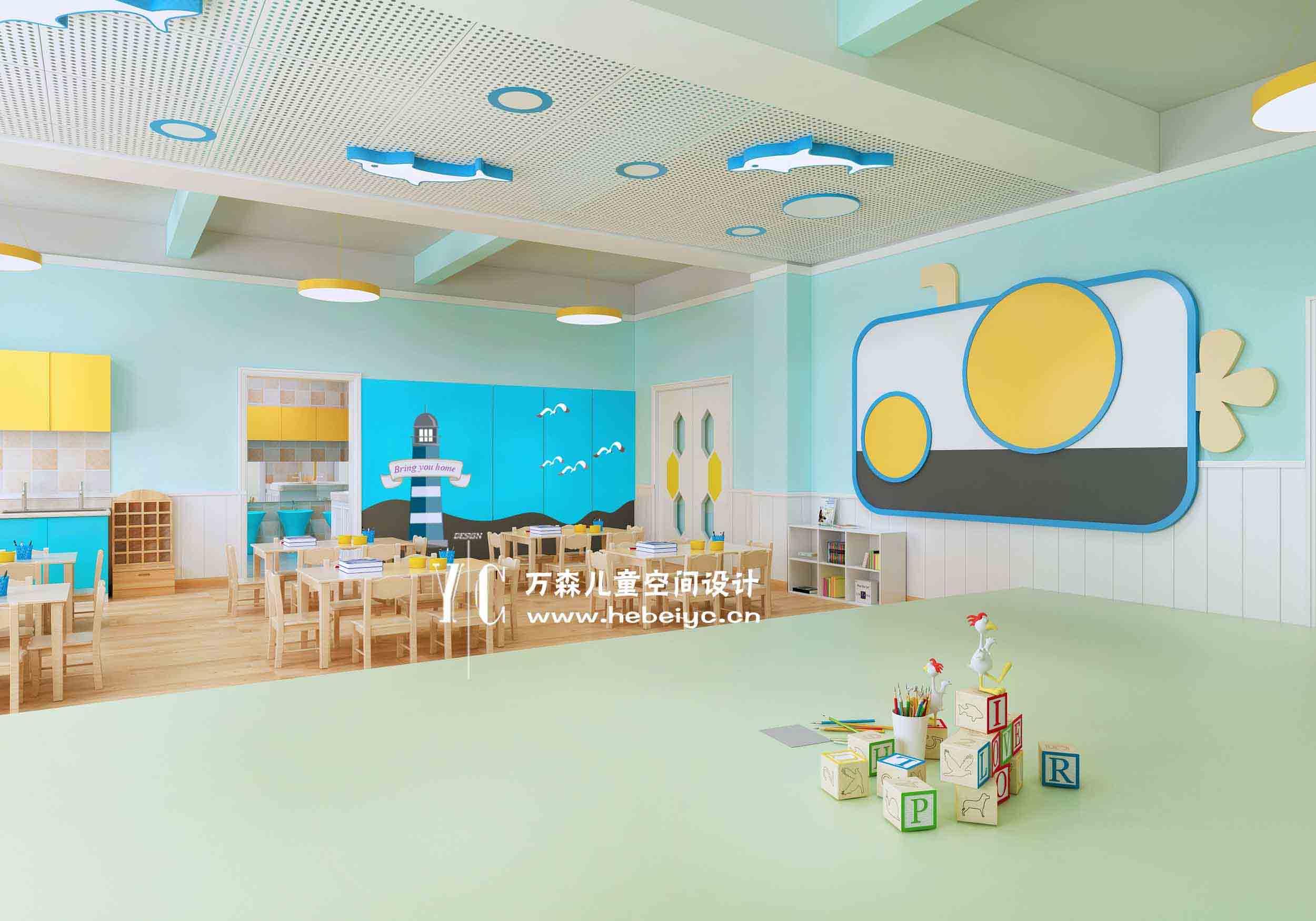 山西|幼儿园活动室设计|幼儿园教室|幼儿园装修规划