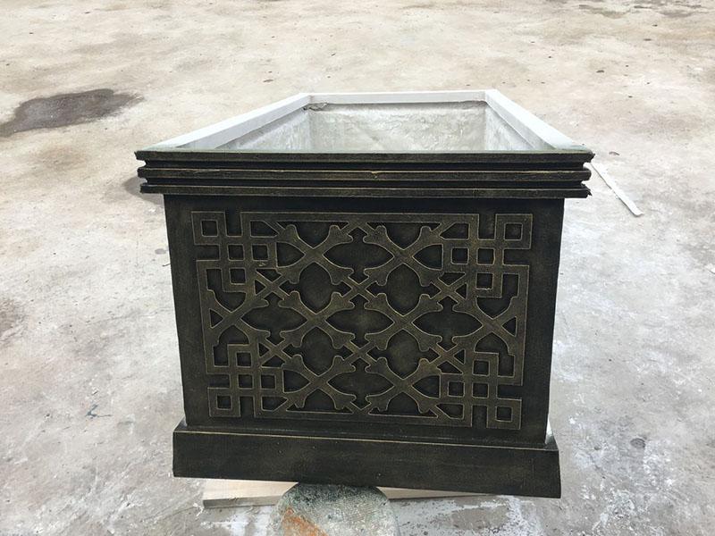仿石玻璃钢花箱