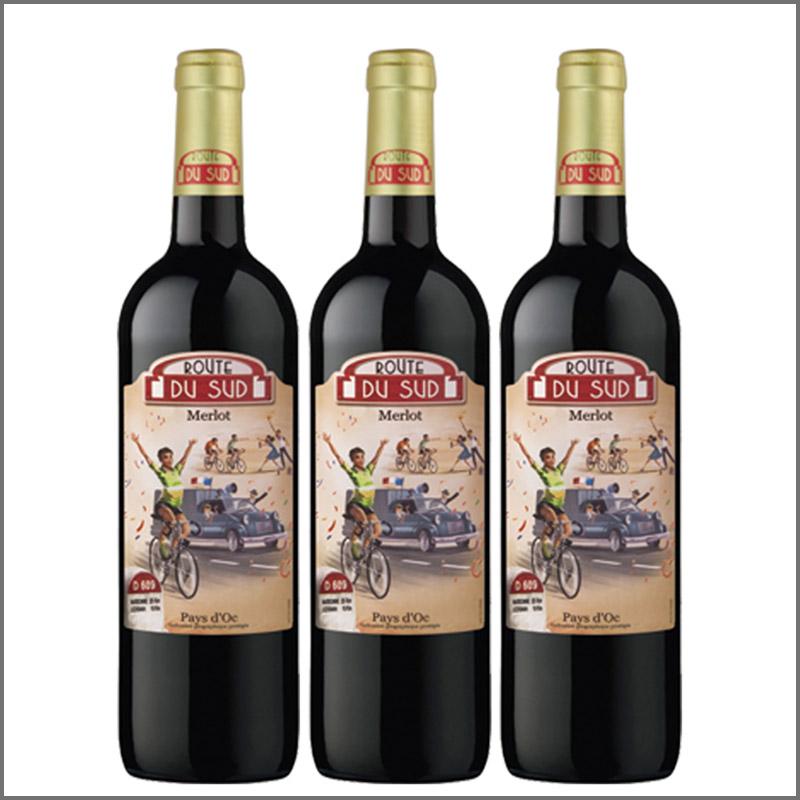 南法風情·賽車手紅葡萄酒
