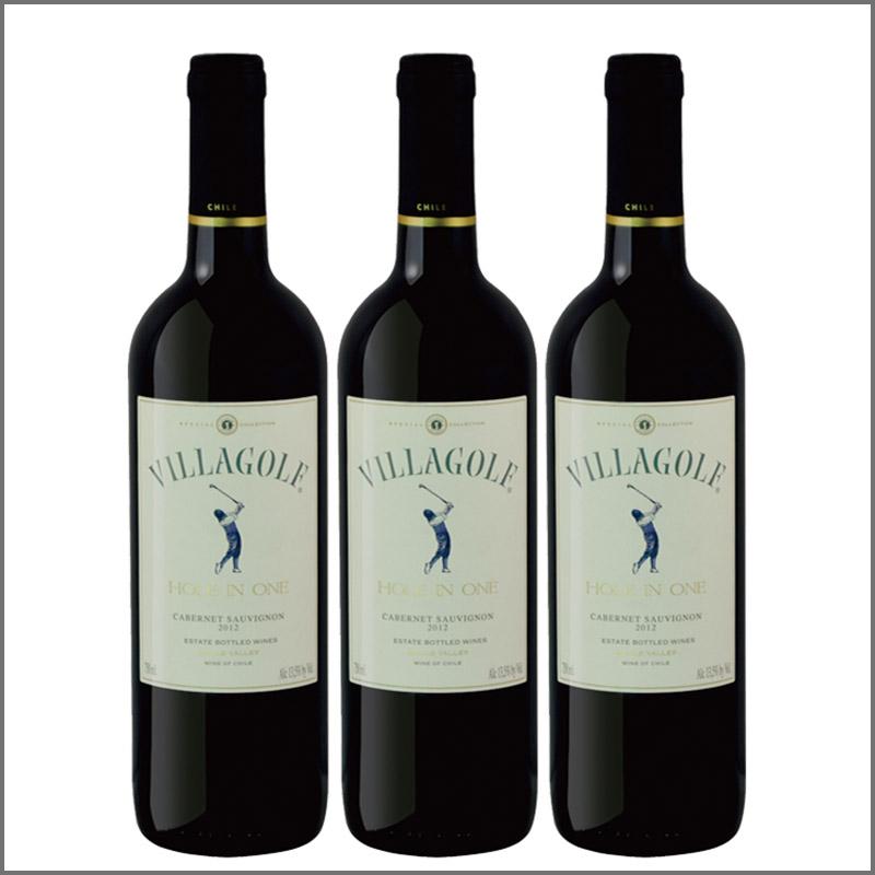 维拉高尔夫·卡本纳·索维浓红葡萄酒