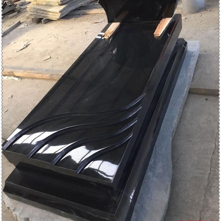 山西黑石材中国黑墓碑