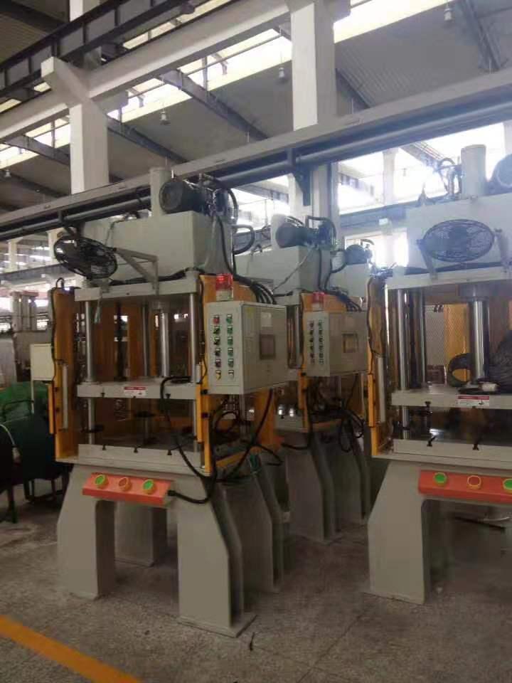 检测系统力位移油压机