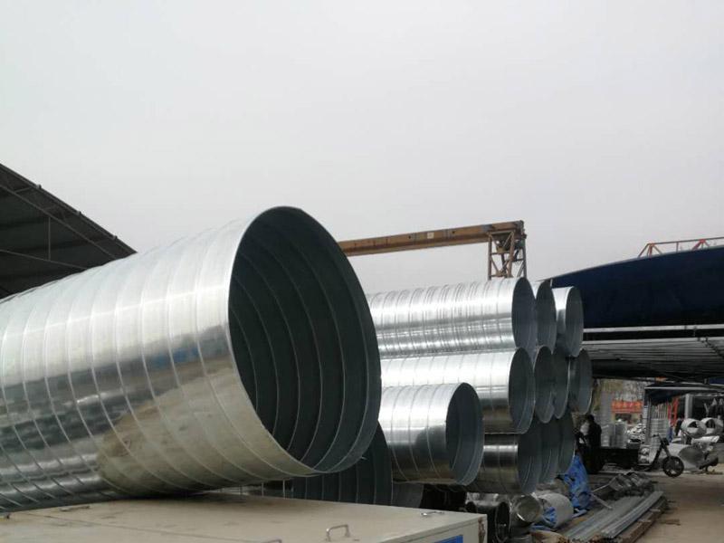 新乡螺旋风管,通风管道安装,河南