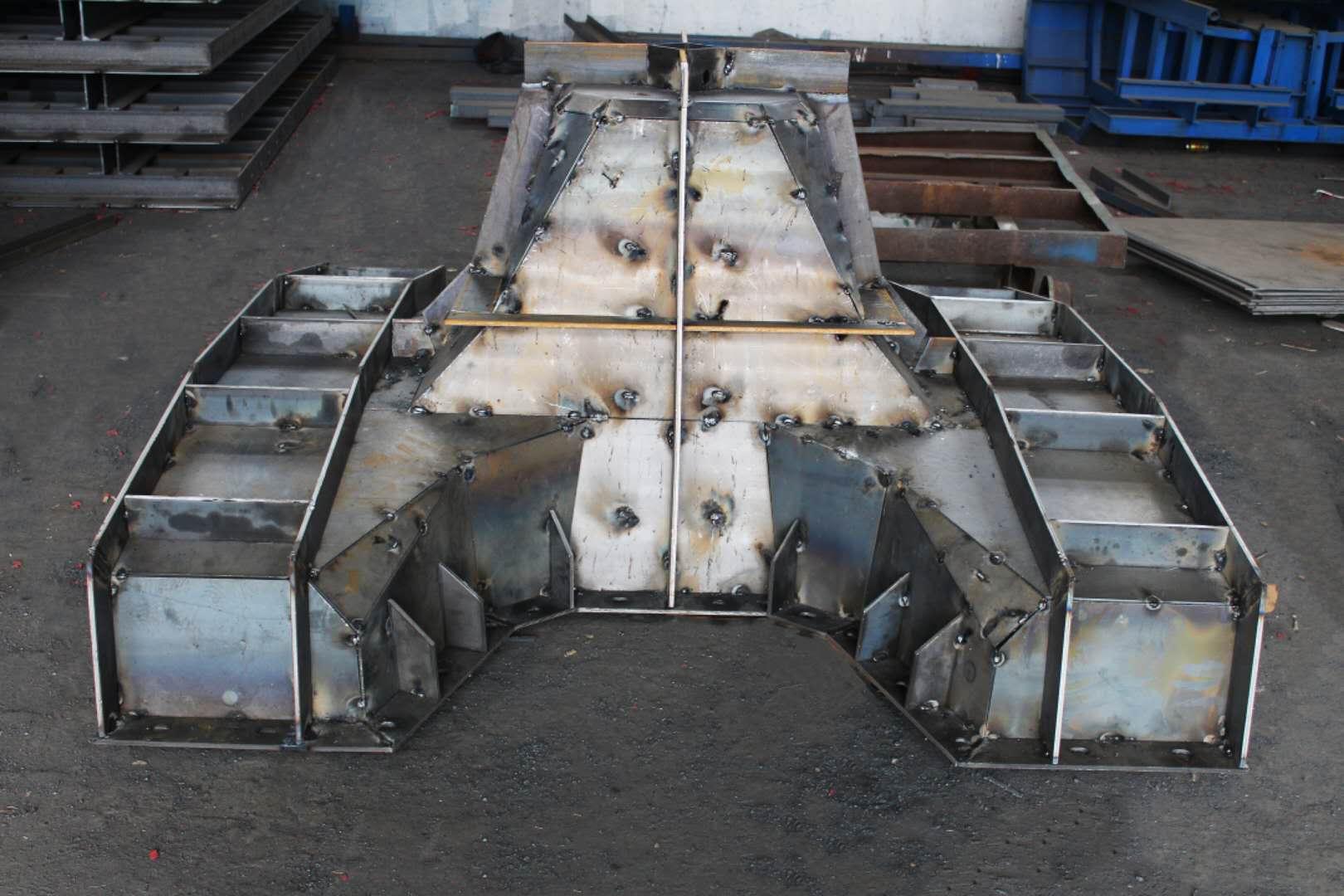 唐山路通桥梁模板有限公司 扭王块模板 扭王字块体