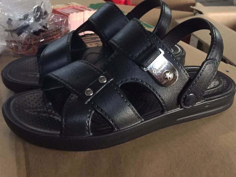 PVC吹气拖鞋