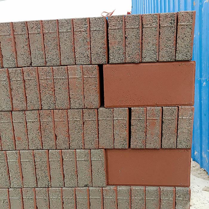 石家庄红色面包砖
