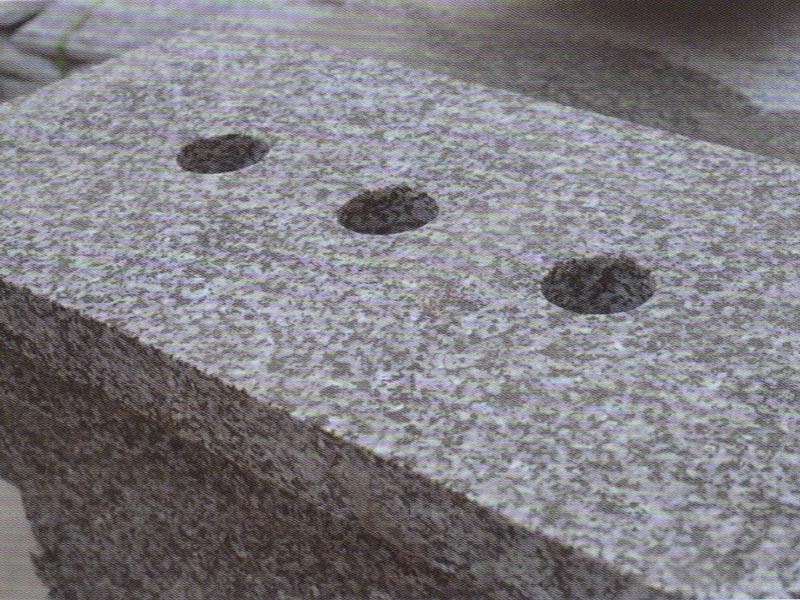 黑白点石材雨水箅子