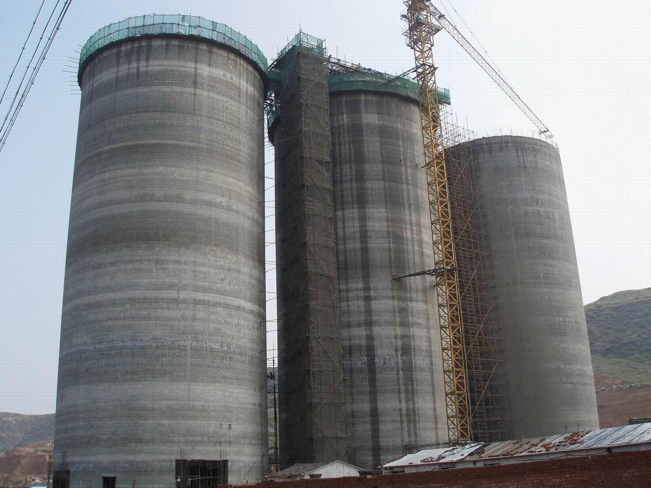煤仓滑模施工