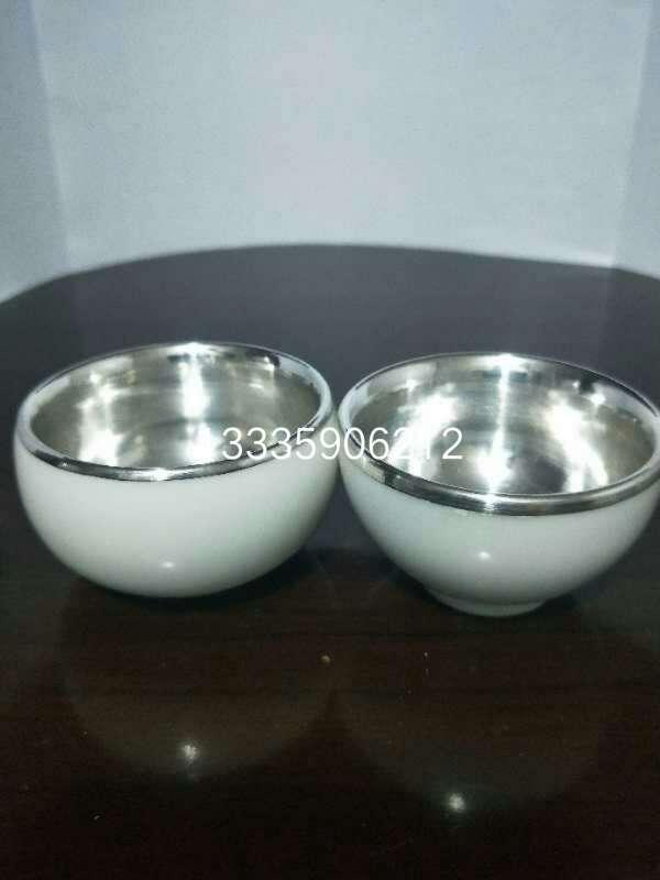 纯银茶杯茶碗纯银茶
