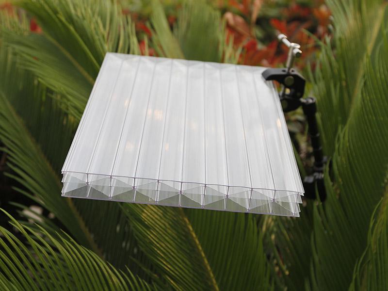 PC三层米字型阳光板