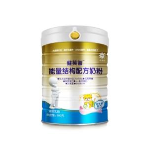 健英智能量结构配方奶粉(益生菌配方)铁听