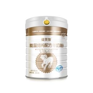 健英智能量结构配方羊奶粉(益生菌配方)铁听