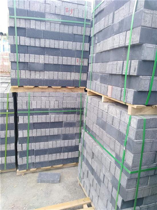 北京透水面包砖