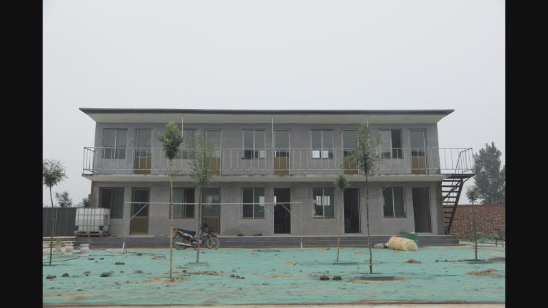 石家庄水泥活动房安装