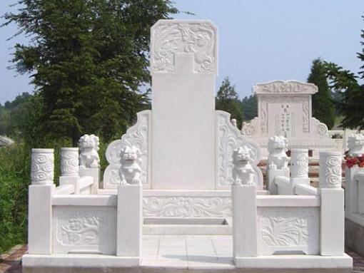 草白玉墓碑