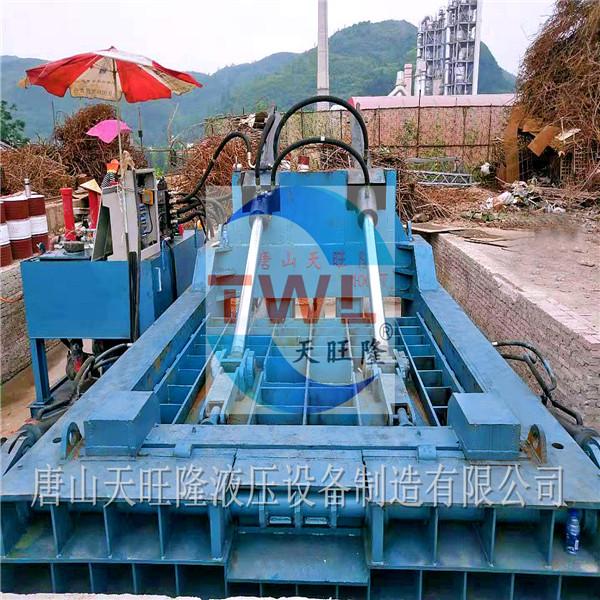 唐山金属打包机/唐山金属打包机厂家-唐山天旺隆液压设备