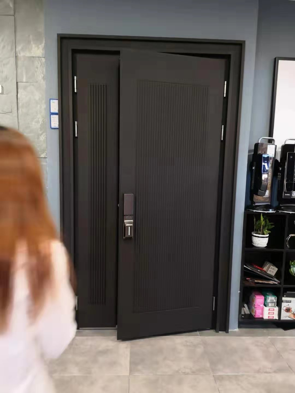 铸铝门设计安装