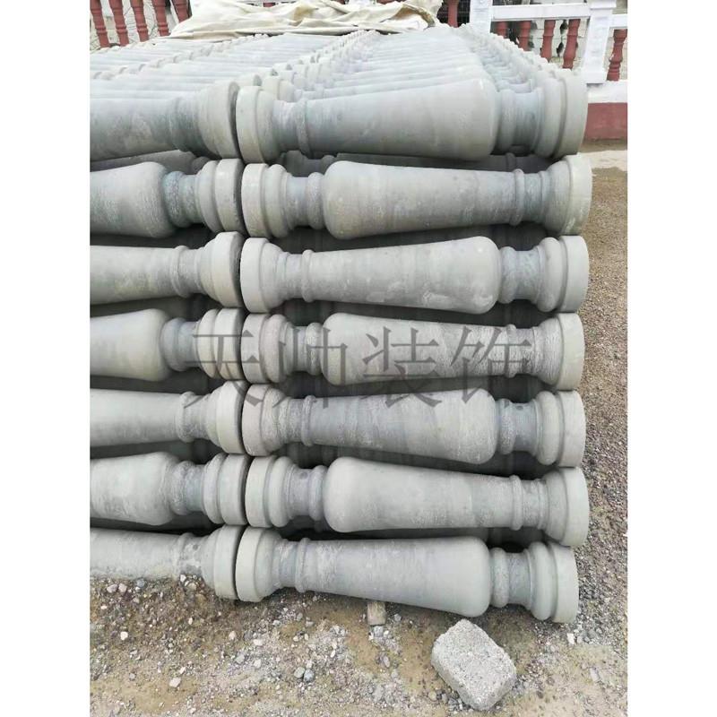 Custom made cement vase columns