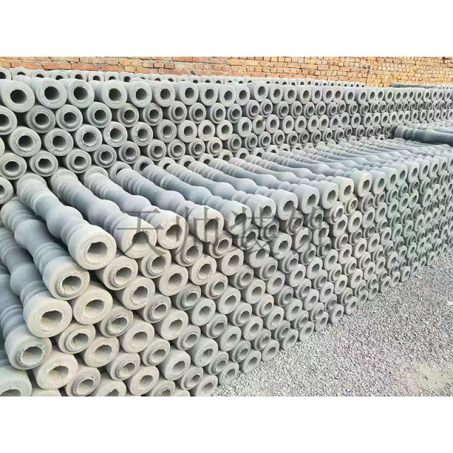 Cement vase post installation