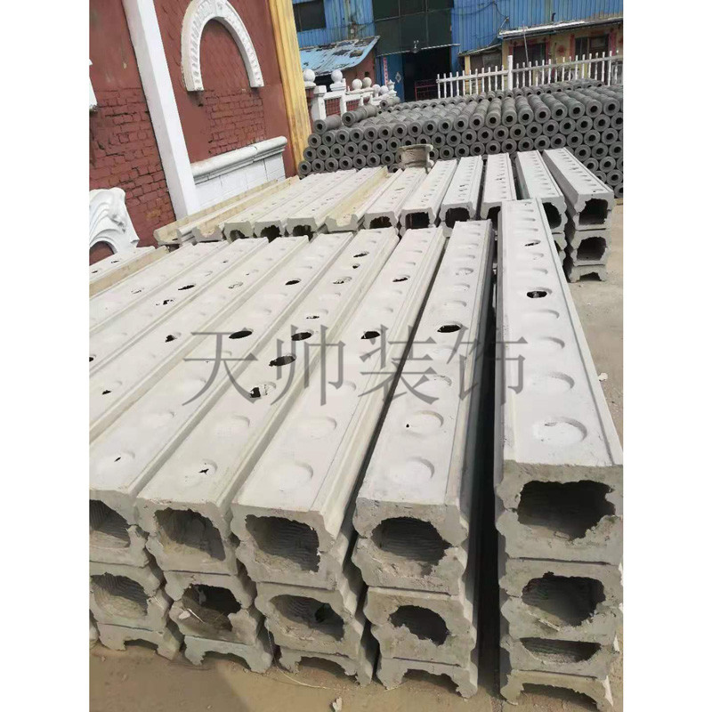 Shijiazhuang cement vase column, water