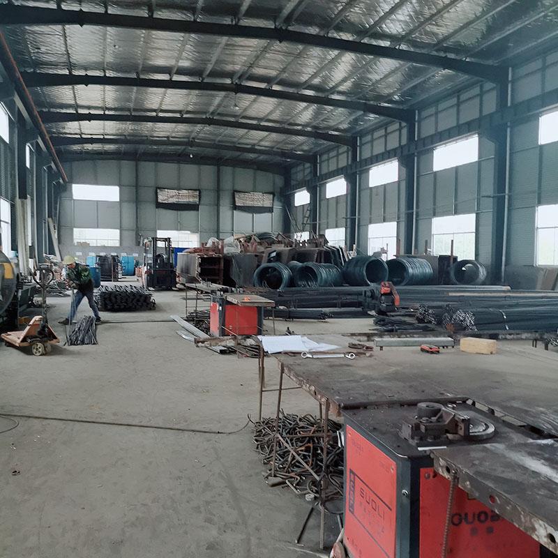 钢筋生产区