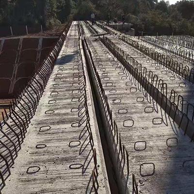 蒙华铁路宜丰段上穿公路16米空心板梁
