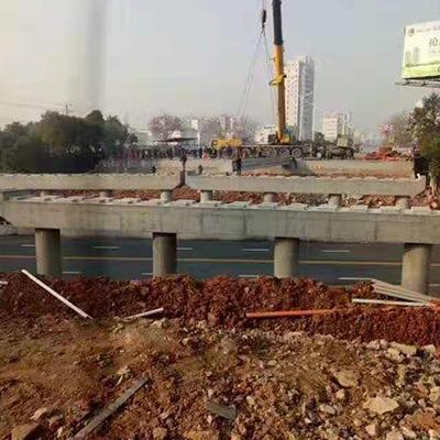 新余市政项目孔目江大桥20米空心板梁