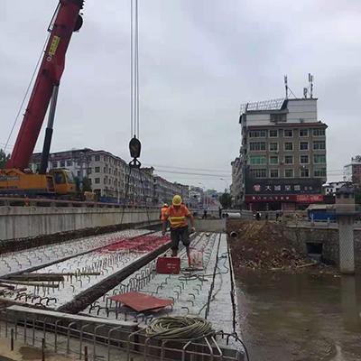 上栗县均田中桥20米T梁