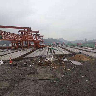 萍乡市湘东区重点工程河洲大桥30米箱梁
