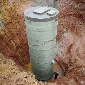 玻璃钢一体化污水泵