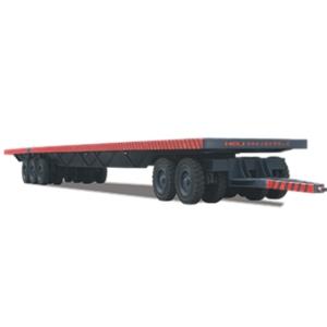 1-80吨平板拖车 平板拖车