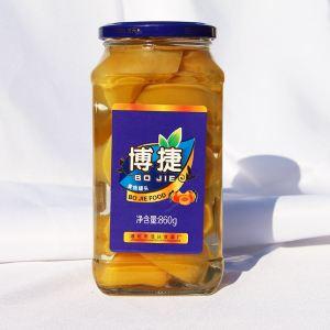 黄桃罐头|博捷黄桃罐头