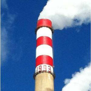 881 烟囱刷航空标志漆|海洋灯塔标志漆|高空障碍物航标漆|焦化厂烟囱标志漆