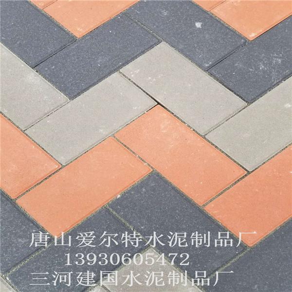 唐山广场砖厂家|唐山盲道砖价格|唐山草