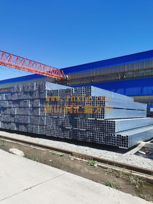 唐山、北京 方矩管 镀锌带方管 方管厂家