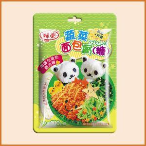100g菠菜+芹菜面包屑(糠)