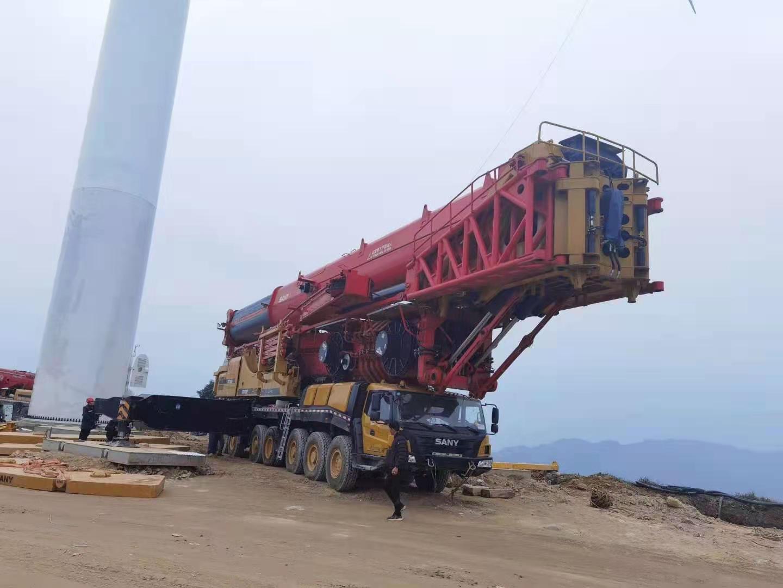 1020吨风力吊车租赁