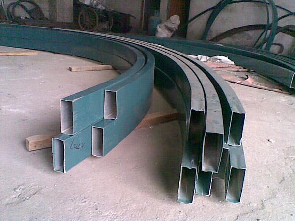 型材拉弯与弯管加工技术的广泛应用