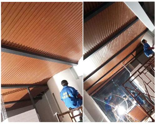 生态木吊顶安装方法及图解--美绿耐环保