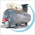 WNS燃气(油)蒸汽(热水)锅炉