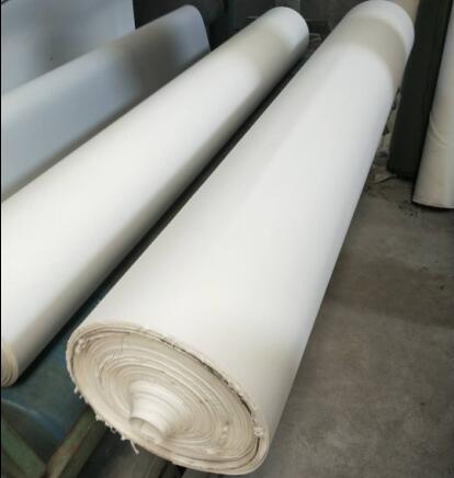 河北石家庄有机硅帆布,白色有机硅帆布厂家直销