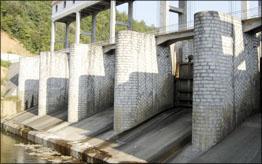 小型输水闸