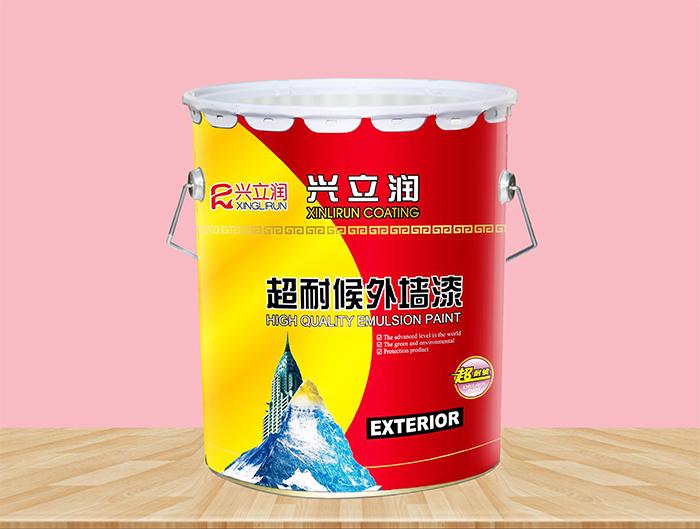 超耐候外墙乳胶漆