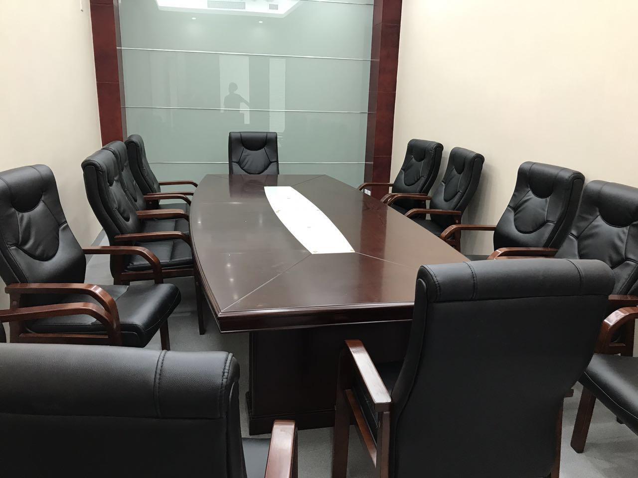 实木会议室办公桌椅