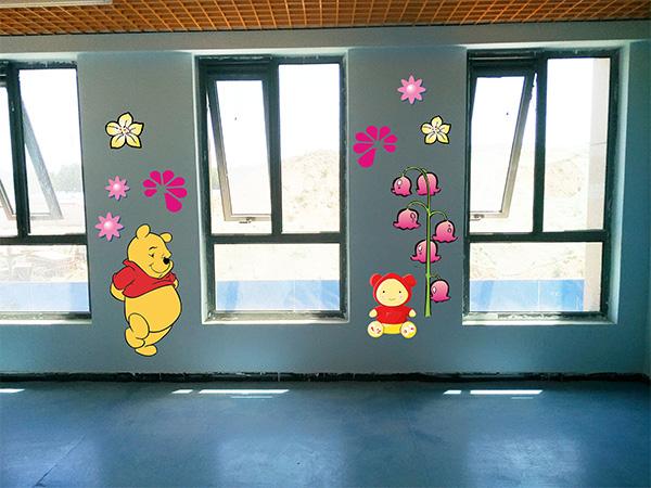 固安幼儿园彩绘